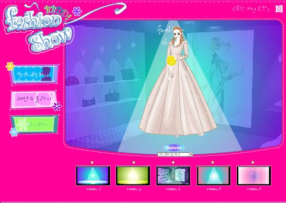 choi game thời trang cưới