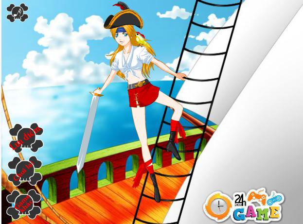choi game thời trang cướp biển