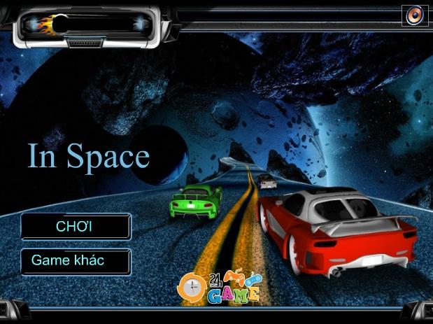 đua xe ngoài vũ trụ