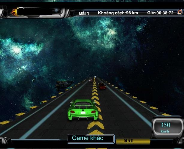 choi game đua xe ngoài vũ trụ