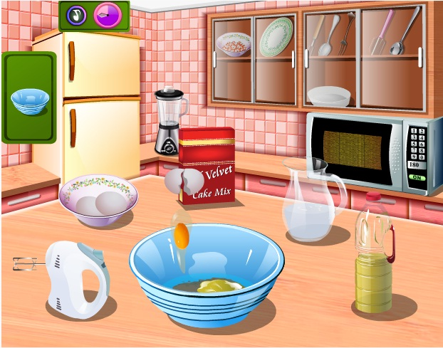 choi game Làm bánh ngọt giáng sinh