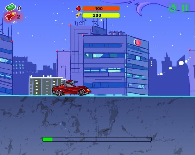 game siêu xe điệp viên