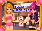 Game Tóc Xinh Xuống Phố