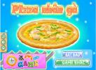 Game Bánh piza nhân gà