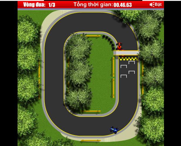 choi giải đua F1 mini