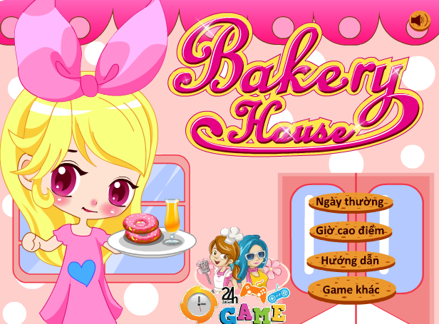 nhà hàng bánh ngọt