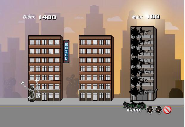 chơi game Tàn phá NewYork
