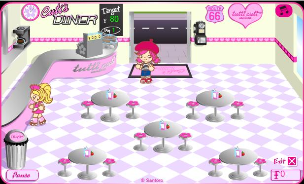 Game Tiệm bánh ngọt Cutis