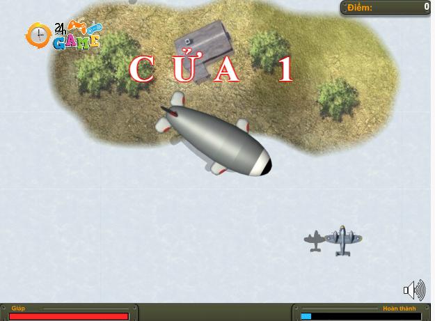 game máy bay hủy diệt