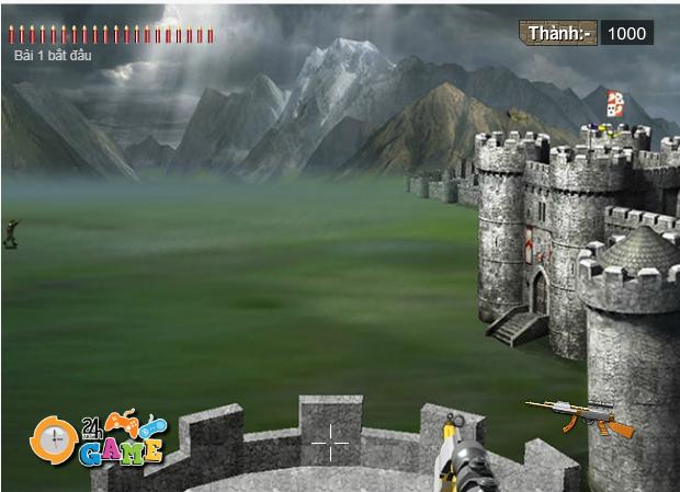 phòng thủ lâu đài