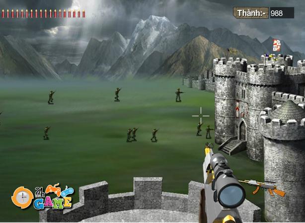 game phòng thủ lâu đài