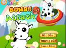 Game Bò sữa tránh bom