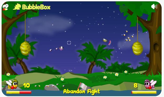 choi game cuộc chiến của loài ong