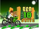 Game Ben 10 lái xe