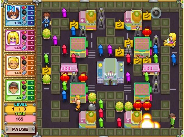 chơi game chiến thuật đặt bom 3