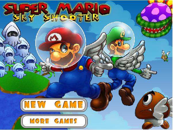 Mario đại chiến bầu trời