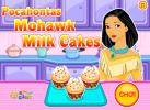Game Bánh cupcake kem sữa