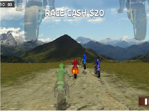 choi game đua xe gắn máy