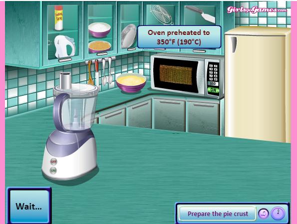 game làm bánh kem