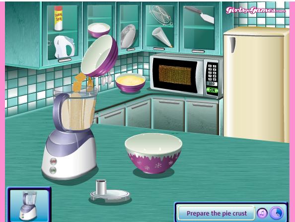 choi game làm bánh kem