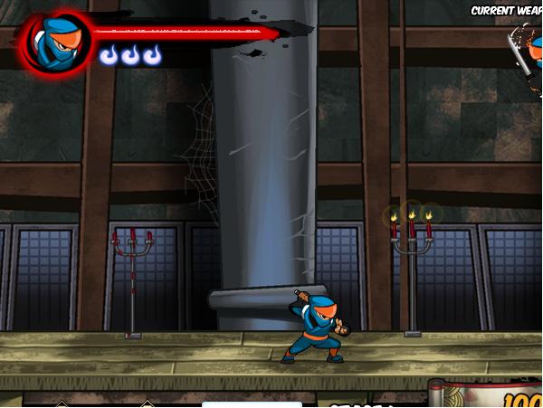 game cuộc chiến giữa zombie và ninja