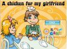 Game Gà quay tặng bạn gái