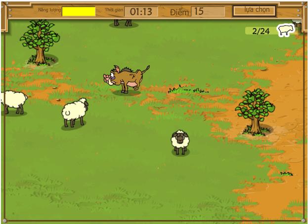 chơi game kapan và bầy cừu