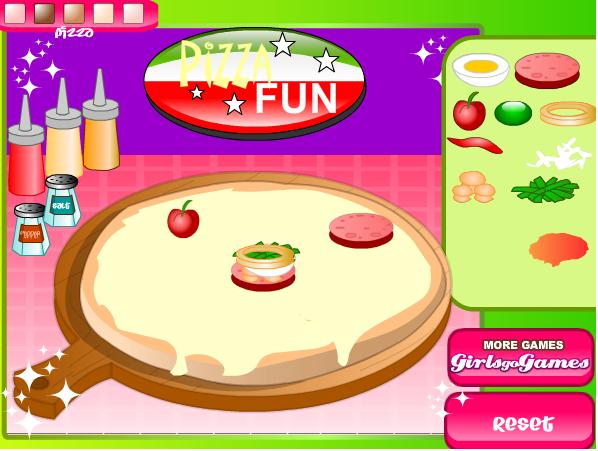 game pizza vui vẻ
