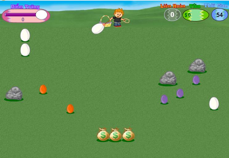 game săn trứng vàng