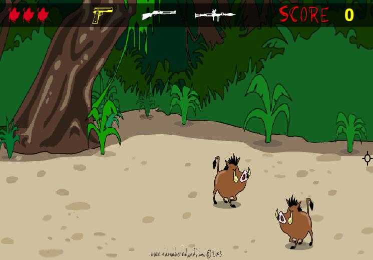 game bắn lợn rừng