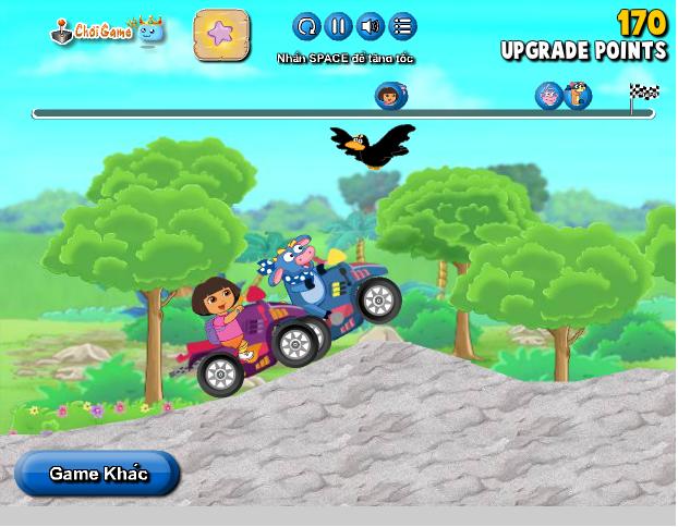 chơi game Dora lái xe