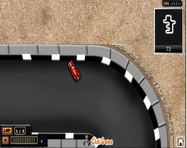 chơi game đường đua khốc liệt