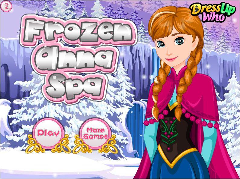 game làm đẹp toàn thân cho Anna