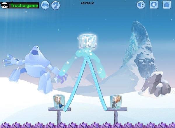 chơi game phép thuật của Elsa