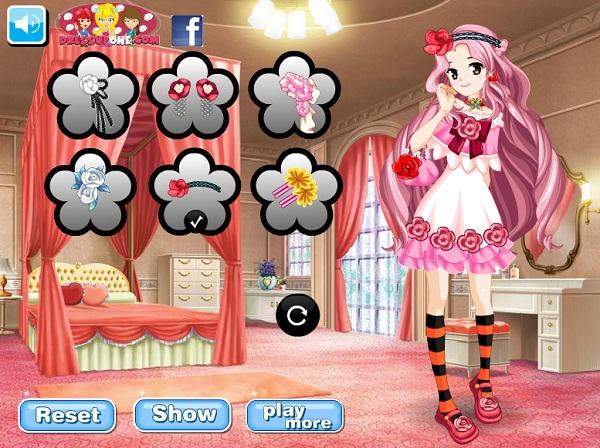 chơi game thời trang Aikatsu
