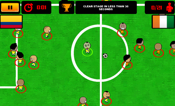 Game World cup zombie