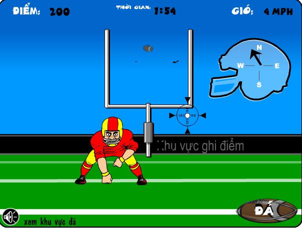 chơi game bóng bầu dục