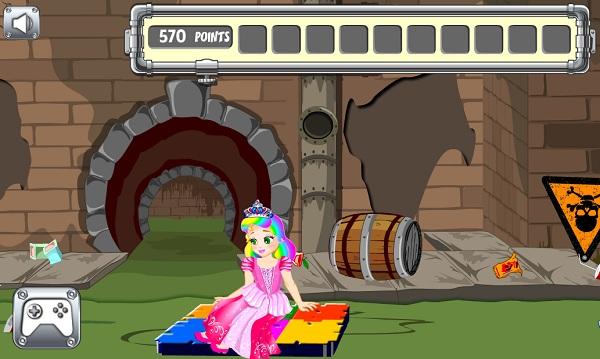 Công chúa Juliet thoát khỏi ống cống