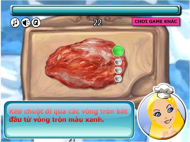 game làm bánh Hambuger
