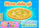 Game Bánh pizza nhân gà