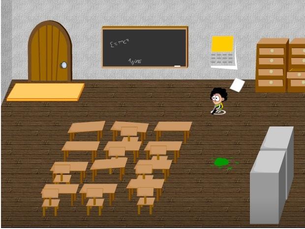 chơi game bảo vệ lớp học