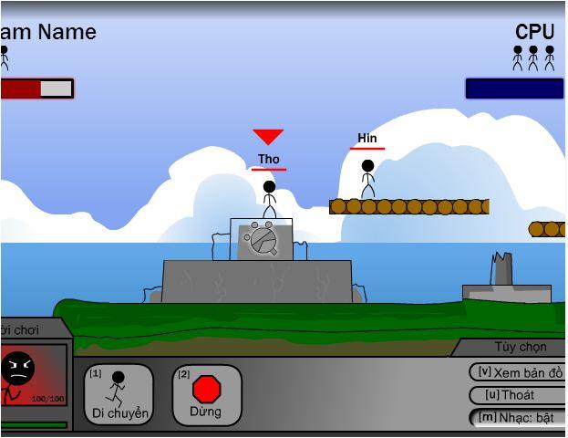 chơi game cuộc chiến biên giới
