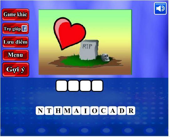 game đoán hình bắt chữ