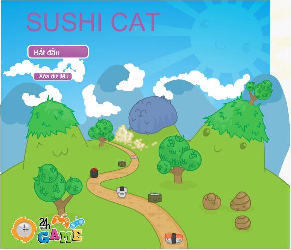 game sushi mèo ú
