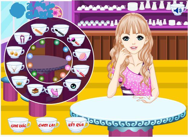 game thời trang trà quán