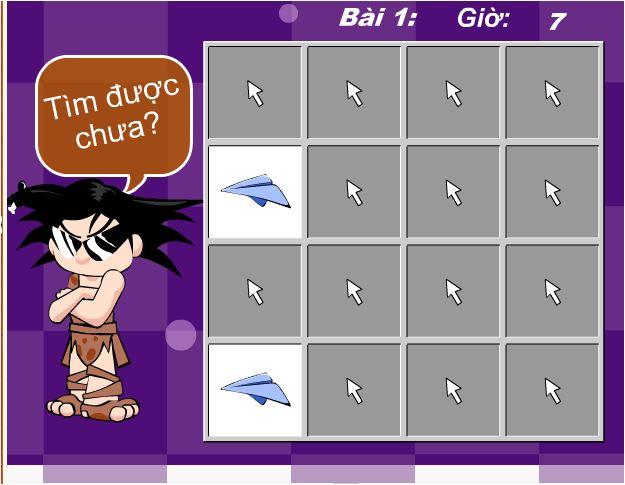 chơi game tìm hình siêu tốc