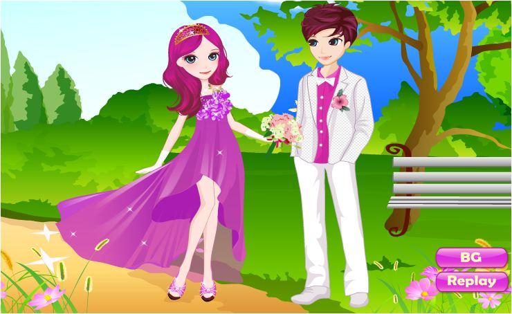 chơi game đám cưới ngọt ngào