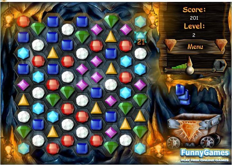 chơi game kim cương chéo