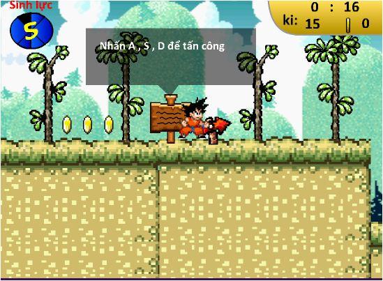 chơi game 7 viên ngọc rồng trái đất