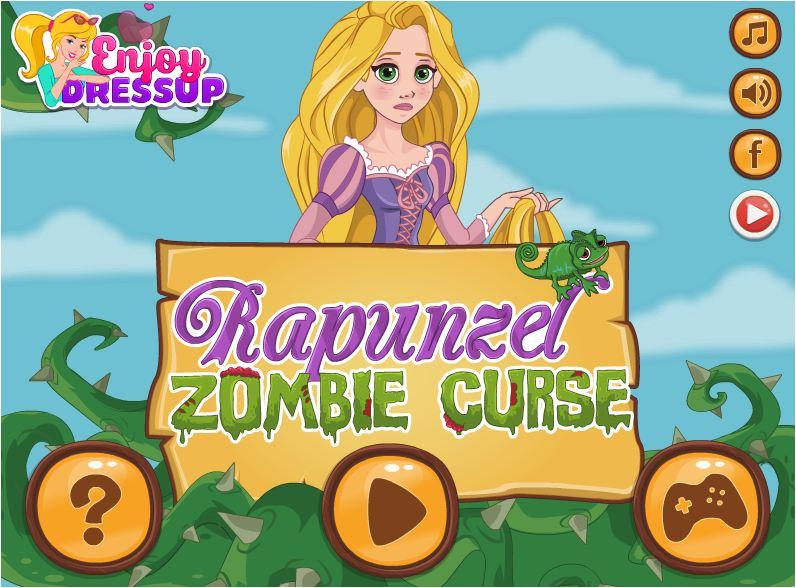 công chúa tóc mây biến thành zombie